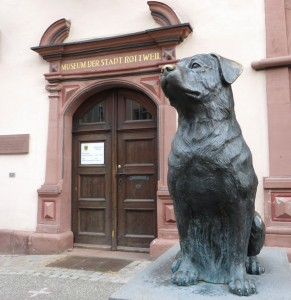 Eingang des Stadtmuseums in Rottweil